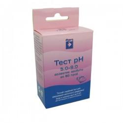 Тест pH 5.0-9.0 кислотність крок 0.5