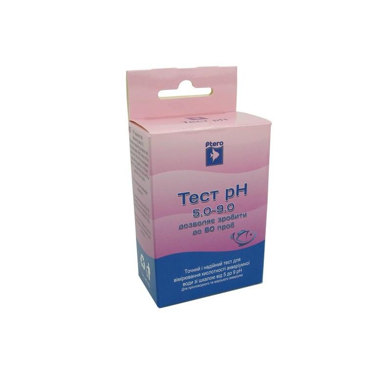 Птеро Тест pH 5.0-9.0 кислотність крок 0.5